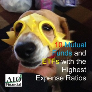 highest expese ratio mutual fund ETF