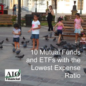 lowest expense ratio mutual funds ETF