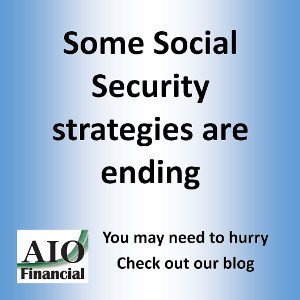 Social Security strategies financial planner