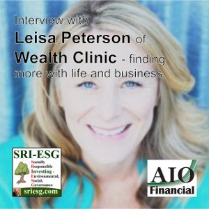 Leisa Peterson wealth clinic business coach