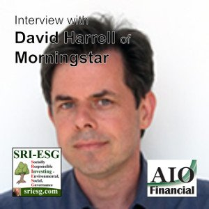 David Harrel morningstar ESG statistic