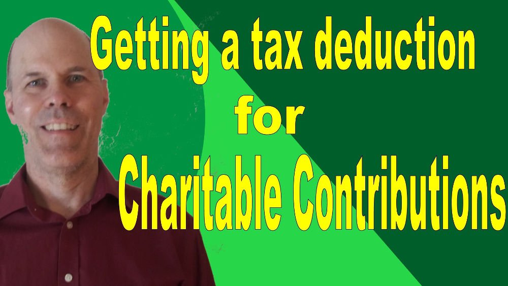 tax deduction charitable contributions