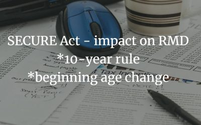 SECURE Act – RMD Changes