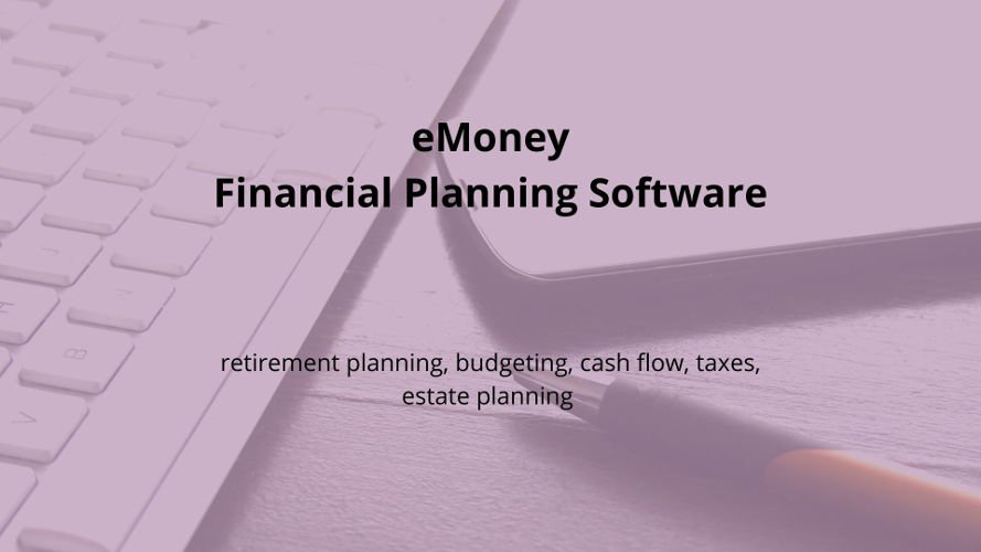 eMoney financial planning software