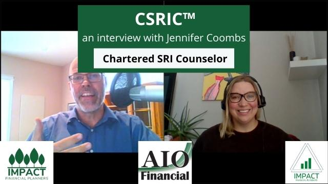 Chartered Sustainable Responsible Impact Investing (SRI) Counselor – CSRIC